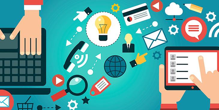 comunicação digital e seus diferentes canais